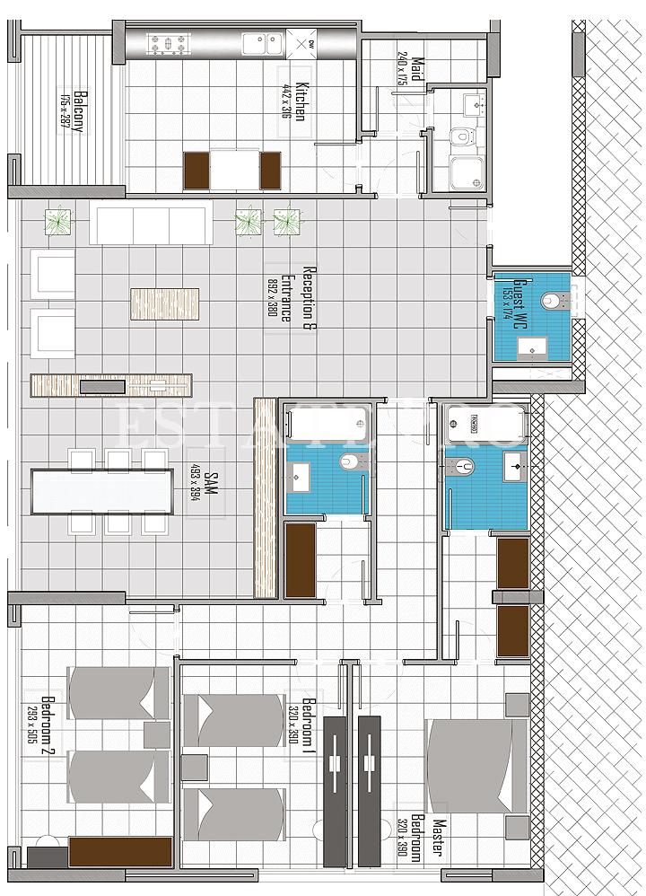 D:173 (2)Clients1st FloorNo Client1st floor bloc C render 1
